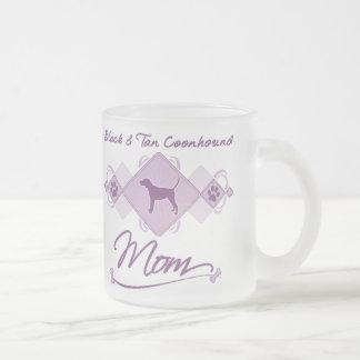 Black & Tan Coonhound Mom Coffee Mugs