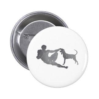 Black Tan Coonhound Pins