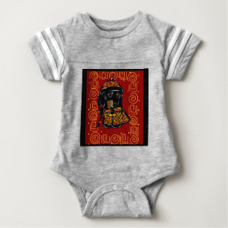 Black & Tan Doxie of the Year Baby Bodysuit