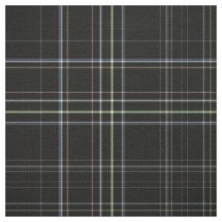 Black Tartan Fabric