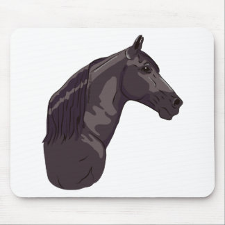 Black Tennessee Walking Horse Mousepad