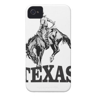 Black Texas Case-Mate iPhone 4 Cases