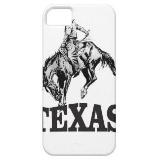 Black Texas iPhone 5 Case
