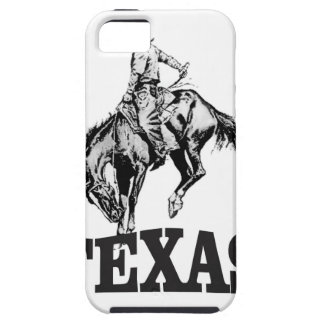 Black Texas iPhone 5 Covers