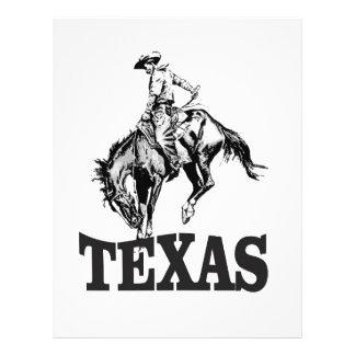 Black Texas Letterhead