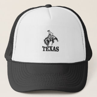 Black Texas Trucker Hat
