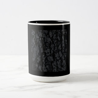 BLACK TEXTURE GROUND BACKGROUND TEMPLATE PATTERN Two-Tone MUG