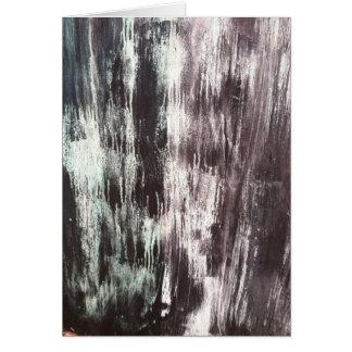 Black Textured Canvas Card