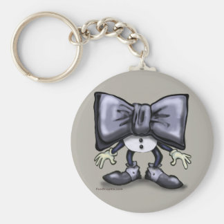 Black Tie Keychain