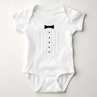 Black Tie Tuxedo Baby Bodysuit