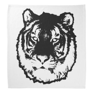 Black tiger bandana