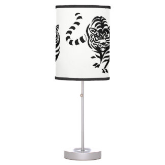 Black Tiger Table Lamp
