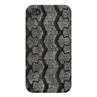 Black Tire Street Urban Tread Protective Case iPhone 4 Covers