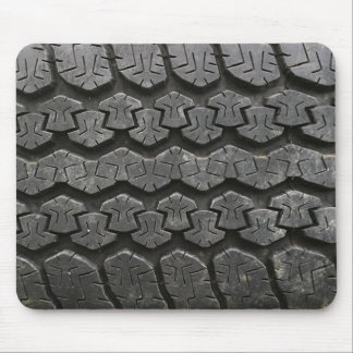 Black Tire Tread Photography Mousepad