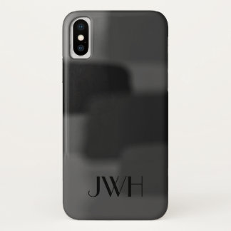 Black to Gray Personalized Case-Mate iPhone Case
