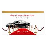 Black Town Car Business Card