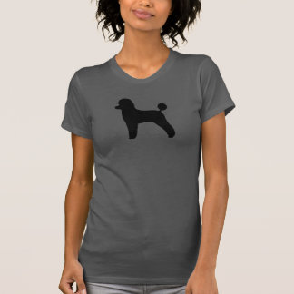 Black Toy Poodle Silhouette T-Shirt
