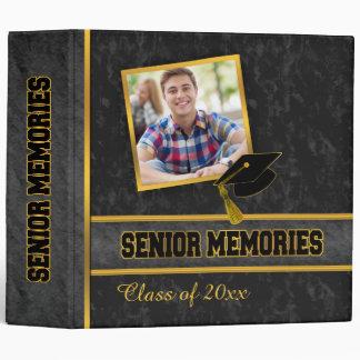 Black Traditional Photo Class Senior Memories Binder