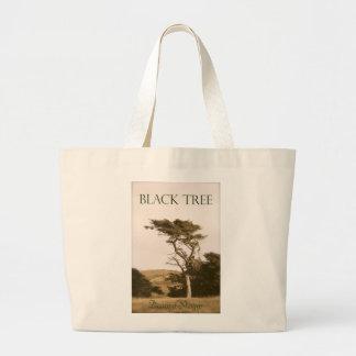 Black Tree Jumbo Tote