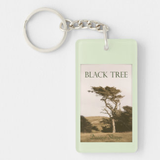Black Tree Keychain