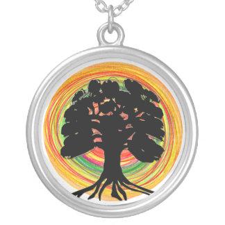 Black Tree Necklace