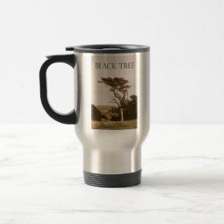 Black Tree Travel Mug