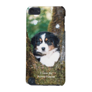 Black Tri Australian Shepherd Puppy Touch 5g iPod Touch 5G Cover