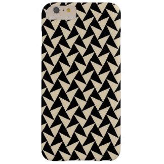 Black triangle iphone case