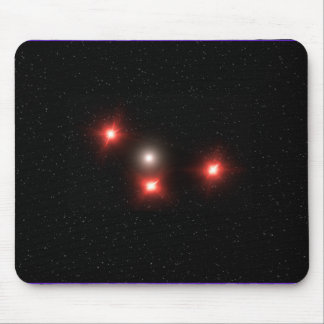 Black Triangle UFO Mousepad