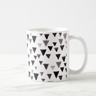 Black Triangles Mug