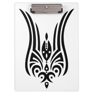 BLACK Tribal Tattoo - tulip + your ideas Clipboard