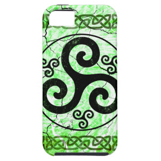 Black Triskellion iPhone 5 Case