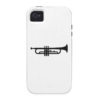 Black Trumpet Case-Mate iPhone 4 Cover