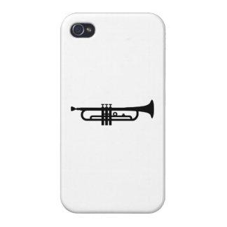 Black Trumpet iPhone 4/4S Cases