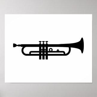 Black Trumpet Posters