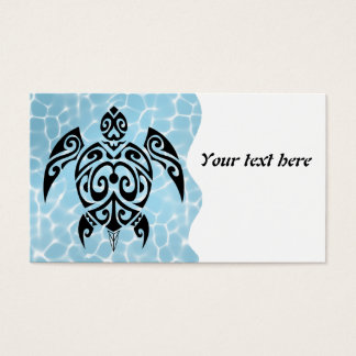 Black turtle 2 in toilets business card