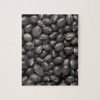 Black turtle bean puzzle