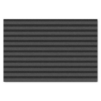 Black Tuxedo Charcoal Grey Stripe Formal Tissue Paper