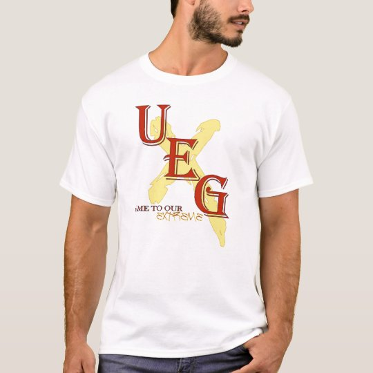 Black UEG Game to our Extreme T-shirt