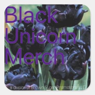 Black Unicorn Merch 00 Square Sticker