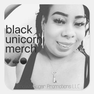 Black Unicorn Merch Stickers 10