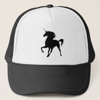 Black Unicorn Silhouette Hat
