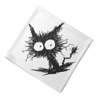 Black Unkempt Kitten GabiGabi Bandana