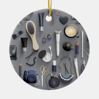 Black Vanity Table Ceramic Ornament