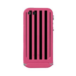 Black Vertical Stripes Incipio ATLAS ID™ iPhone 5 Case