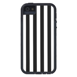 Black Vertical Stripes iPhone 5 Cover