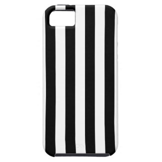 Black Vertical Stripes iPhone 5 Covers