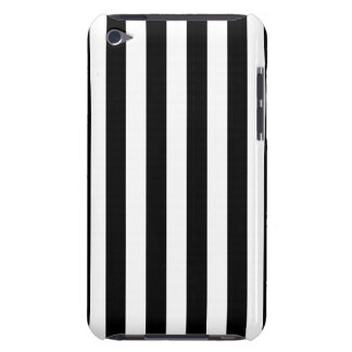 Black Vertical Stripes iPod Case-Mate Case