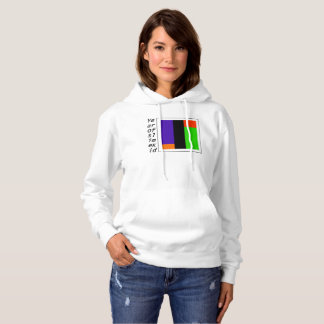 BLACK VERTICAL TITLE WITH THE GOOD COLORS HOODIE