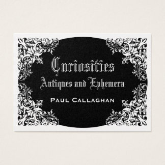 Black Victoriana Business Card